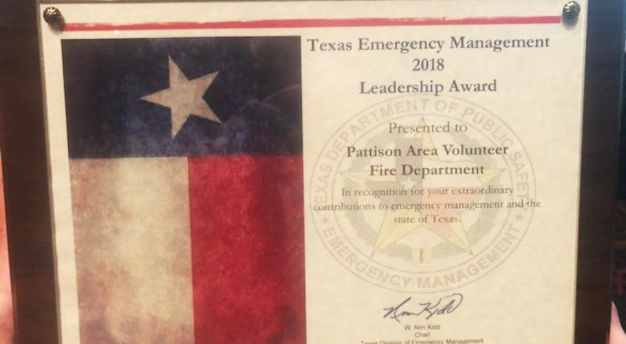 EMERGENCY MGMT CONF 2018 PLAQUE